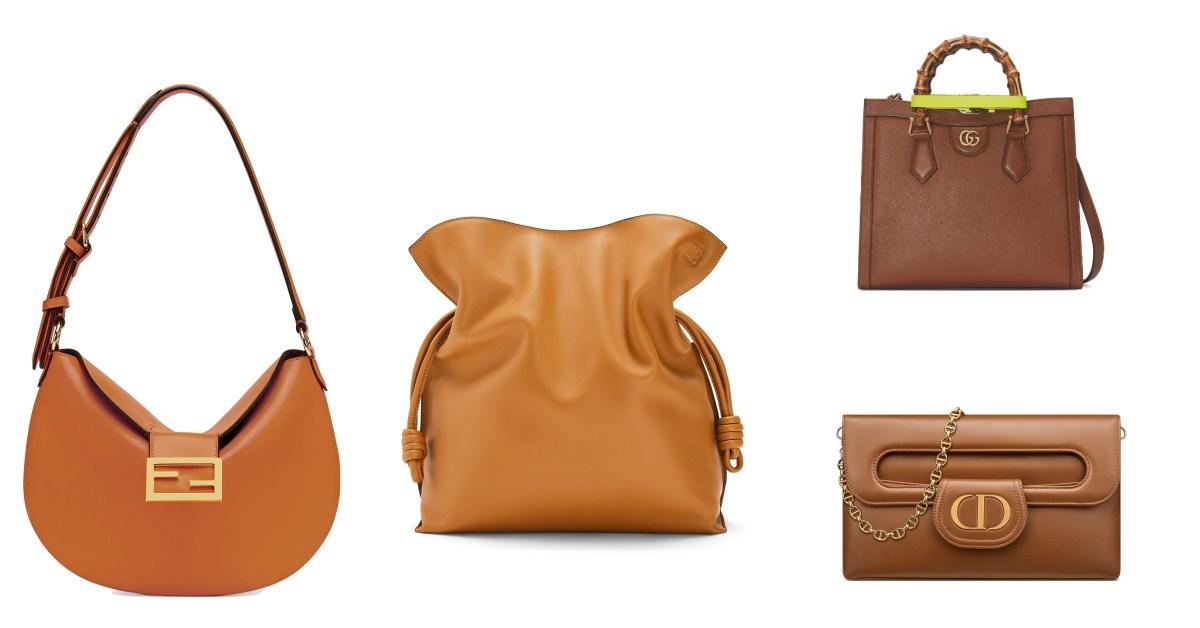 2021包包推薦「焦糖色」Top10!LV、Celine、Dior...Gucci竹節包走紅超過70年
