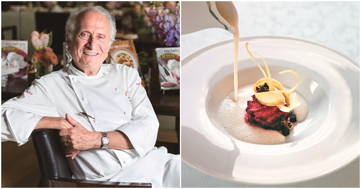 不知道「減法料理哲學」?讓31年蟬聯米其林3星的法國名廚告訴你成功祕訣!