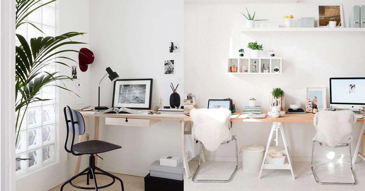 想打造質感辦公環境一點也不難,五個簡單的小東西瞬間讓辦公室變時髦