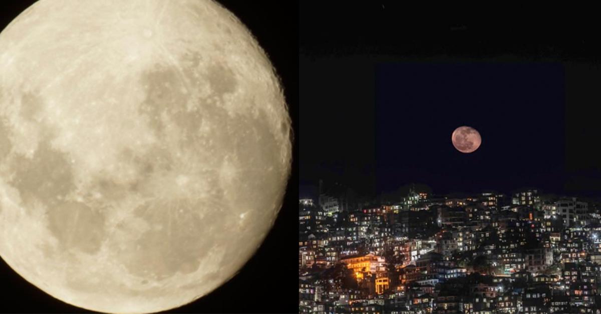 錯過真的再等62年!元宵節遇見最大滿月,逛燈會順便許下心願