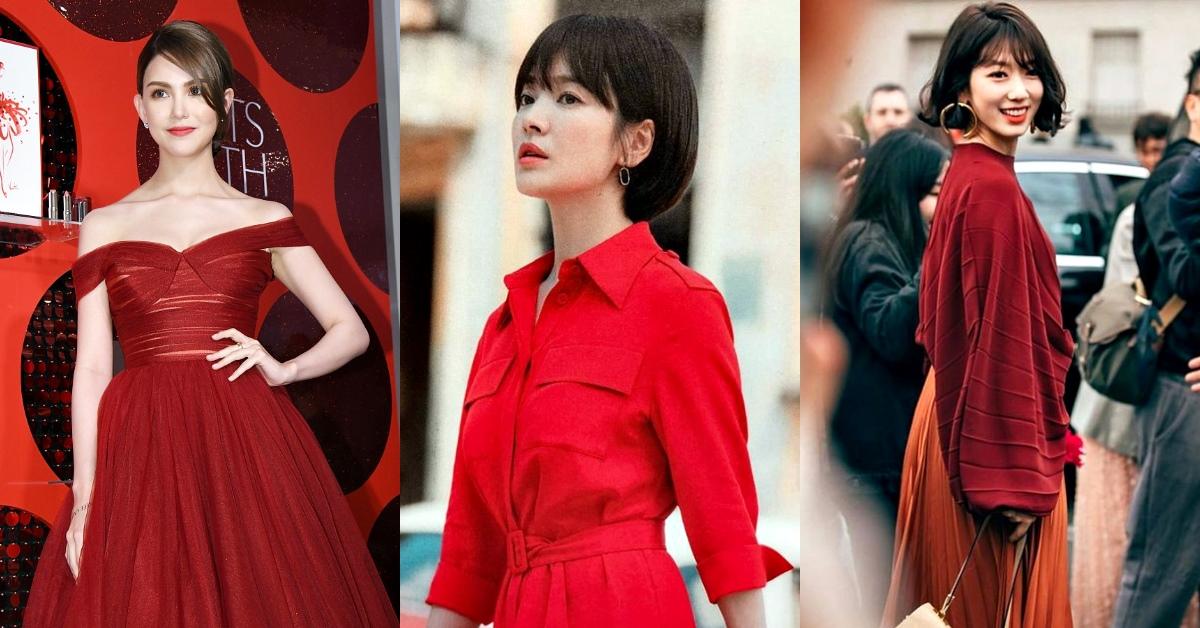 想脫單就搭紅色吧!美國專家指出「女人穿紅色」提高男性好感度15%,掌握這些穿搭「技巧」紅的好姻緣