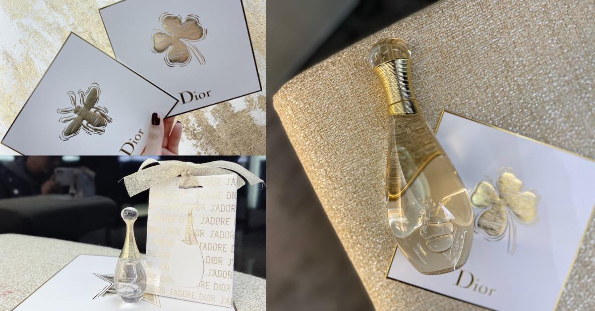 Dior天使香氛 J'adore 推出沐浴系列!身體散發自然香氣,聖誕節把男友勾得不要不要的