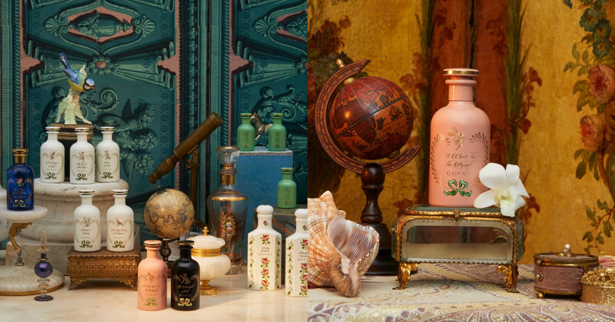 古老藥罐子變香水?Gucci煉金術香氛系列推新香,木質調中竟藏有黑魔法