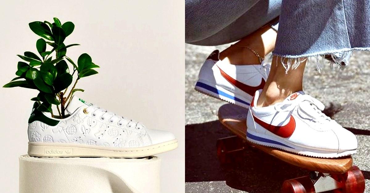 小白鞋推薦這6款最經典!Nike、Adidas兩強對決,Dcard網友淚推:「這輩子一定要有一雙!」