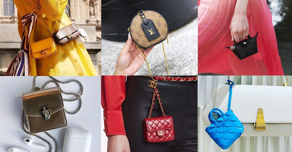 超mini小包風潮持續吹到2020年!從Gucci、Fendi到LV...再不跟上就落伍囉