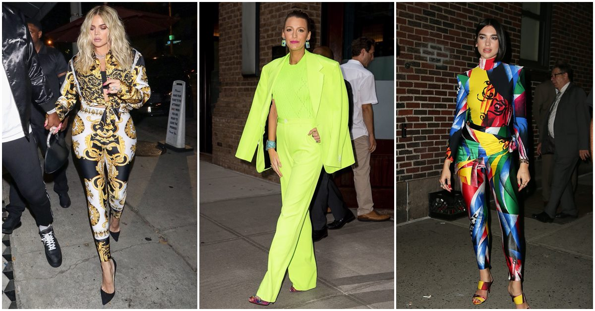 神難駕馭的時尚穿搭!這些螢光綠、潑墨裝、茄子裝只有女神們才能不搞砸