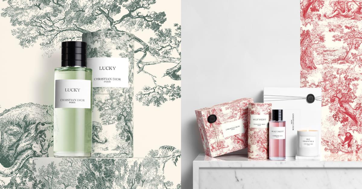 Dior香水推薦這個最經典!「香氛世家」系列,換上絕美印花包裝,香氛絲巾同步限量推出