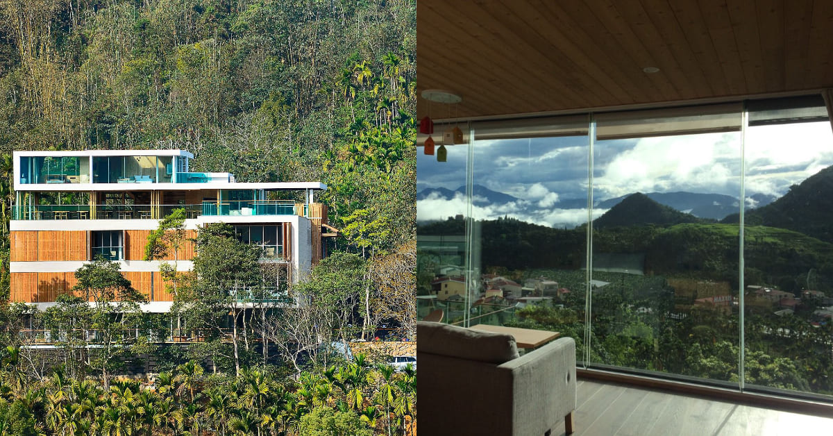 日月潭民宿推薦「原森林」!群山環繞、堅持環保理念 ,世外桃源中的玻璃城堡