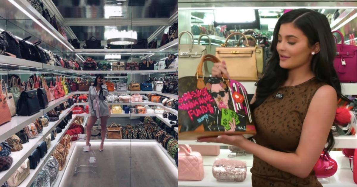 我只看到滿滿的錢!「富比世白手起家女富豪」Kylie Jenner公開她的包包收藏,絕對讓你羨慕嫉妒恨