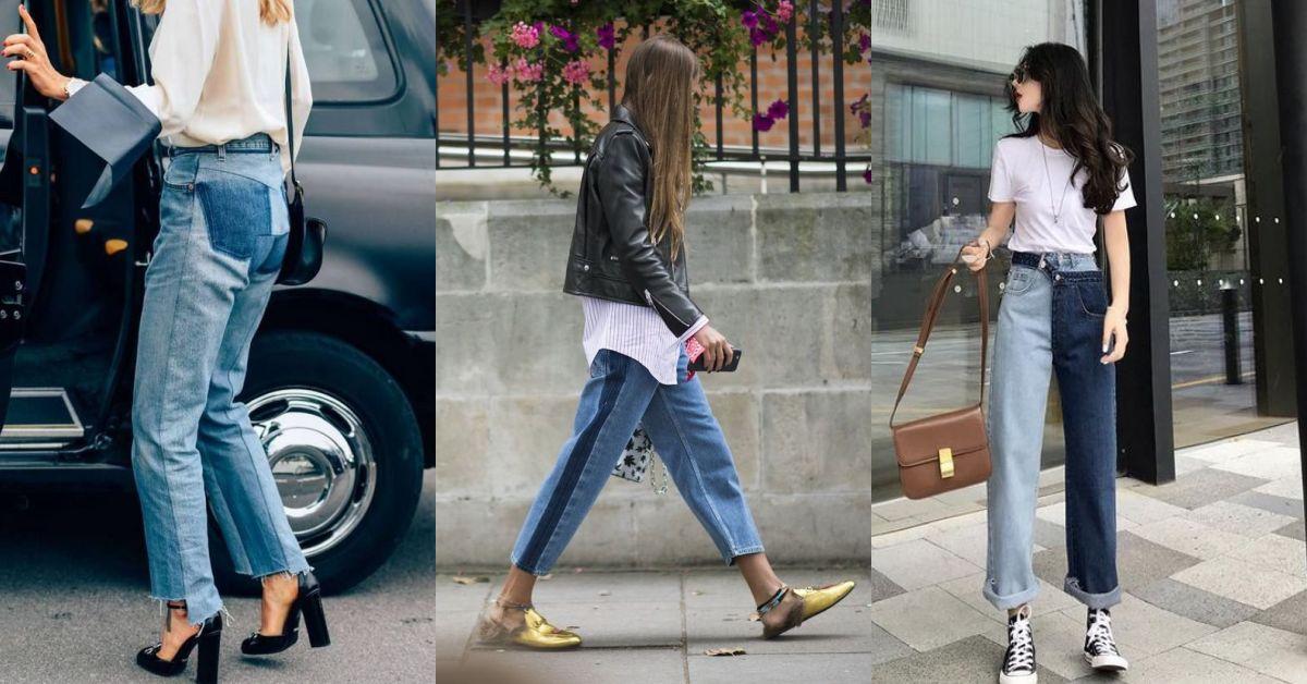 牛仔褲也能成為焦點?從伸展台到街拍,所有時尚咖在瘋的牛仔褲原來是這款!