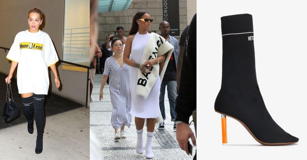 襪套上跟鞋!Sock Boots is New Legging,盤點名人秋冬必入手的襪套靴!