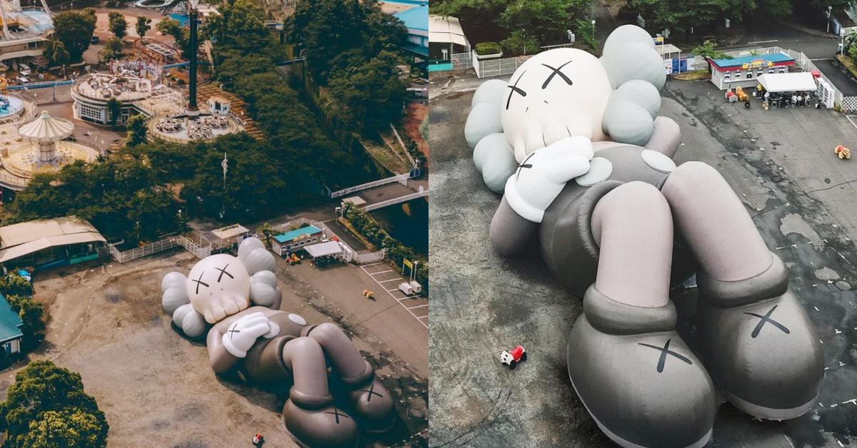 「KAWS:HOLIDAY」亞洲第4站來到日本!巨型公仔周邊商品還加入富士山