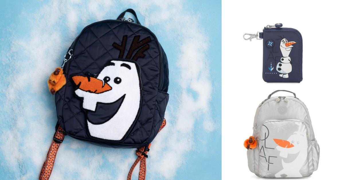 《冰雪奇緣2》聯名包款可愛到翻!背著雪寶後背包去郊遊,絕對全場最吸睛