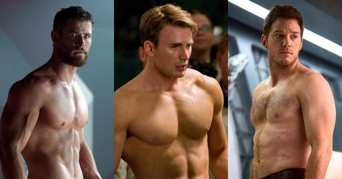女粉絲福利時間!復仇者男星們肌力MAX,滿滿好身材猛男特集