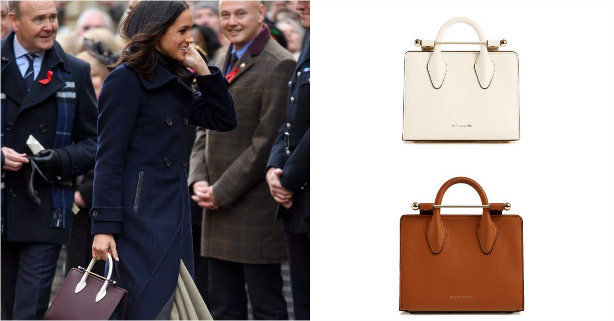 【10Why個為什麼】凱特王妃穿搭必備Strathberry包包!不到2萬擁有全手工打造精品,10點解析它的爆紅原因