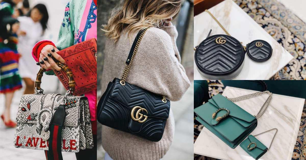 Gucci酒神包、圓餅包全都變成迷你尺寸!經典IT Bag迷你版,小資女也能無痛收藏話題包!