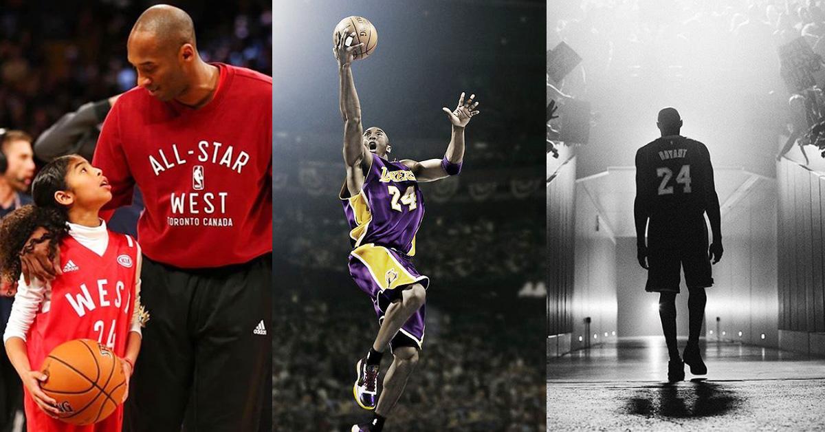 Kobe Bryant與13歲女兒墜機身亡!曾獲18次NBA全明星頭銜,一代籃球巨星殞落