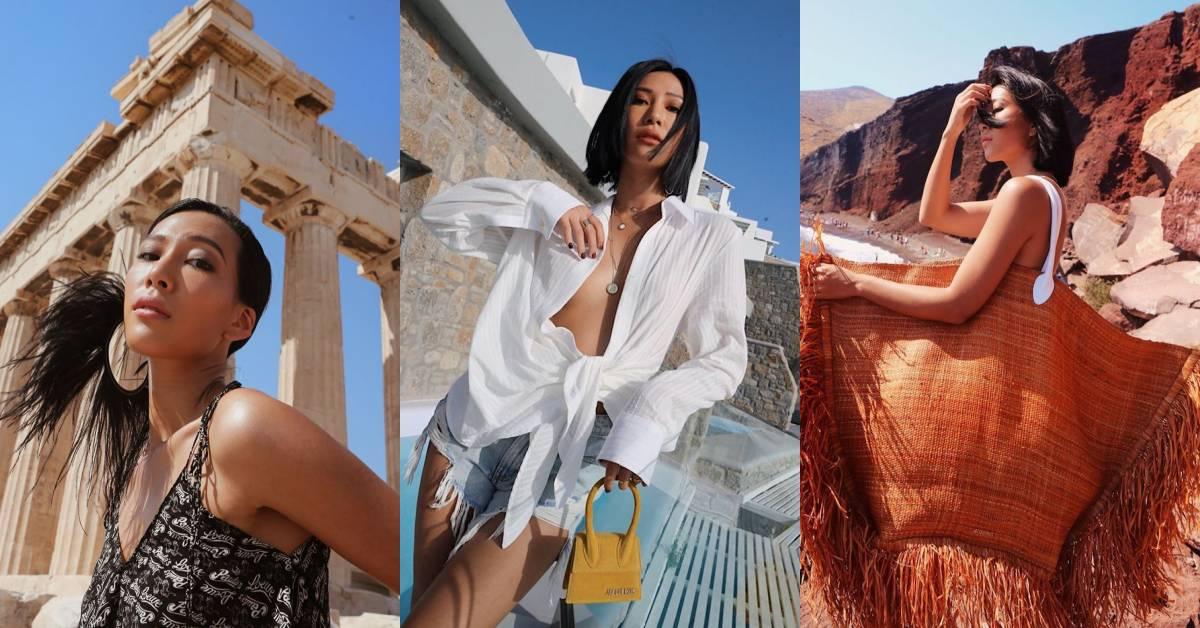 莫莉海島度假穿搭被推爆!方頭鞋、藤編帽今夏必備16款單品品牌看這篇