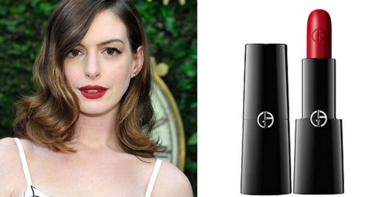 網上敲碗的「安海瑟薇色」曝光!這款唇膏讓她狂讚:「改變了我的生活」