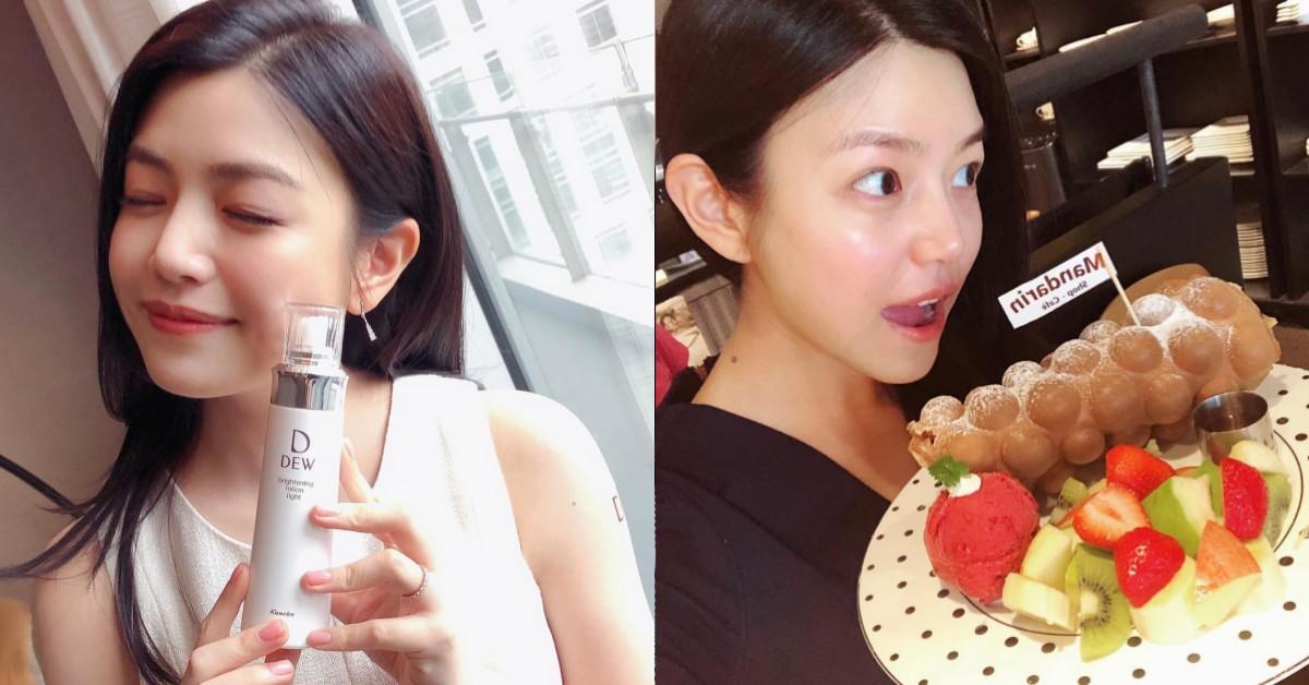 戒咖啡改善敏感肌!陳妍希靠「這兩樣」蔬果消水腫瘦身,10年不復胖!