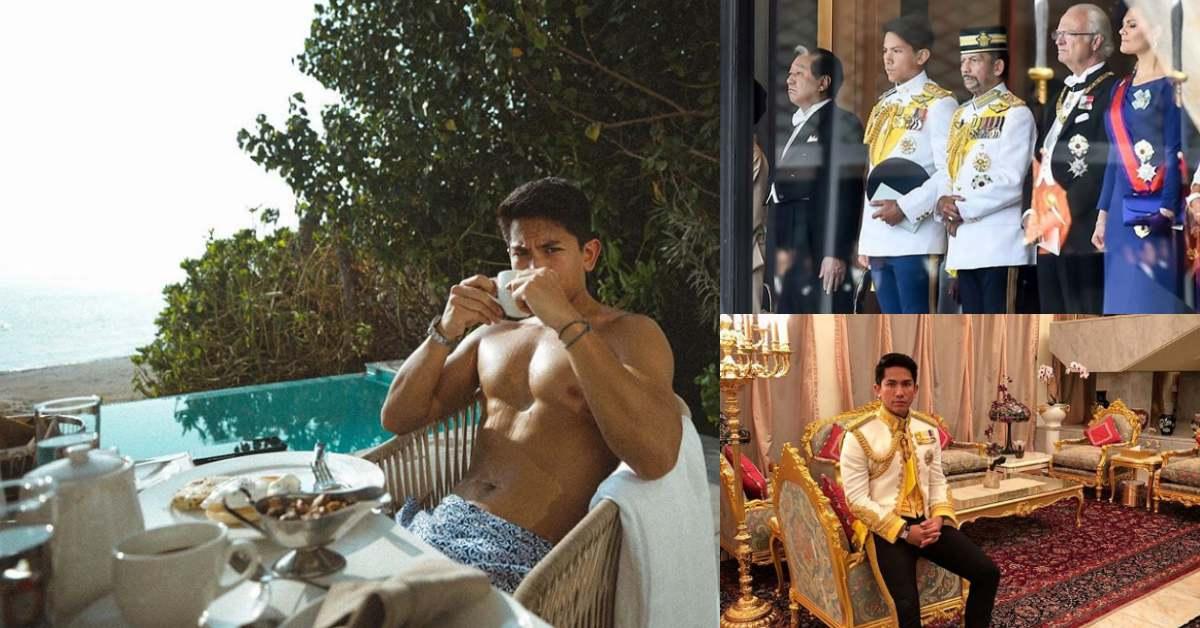 威廉王子遇到強敵!28歲汶萊王子錢多肌肉更多,網友一致公認2020年最完美「黃金單身漢」!