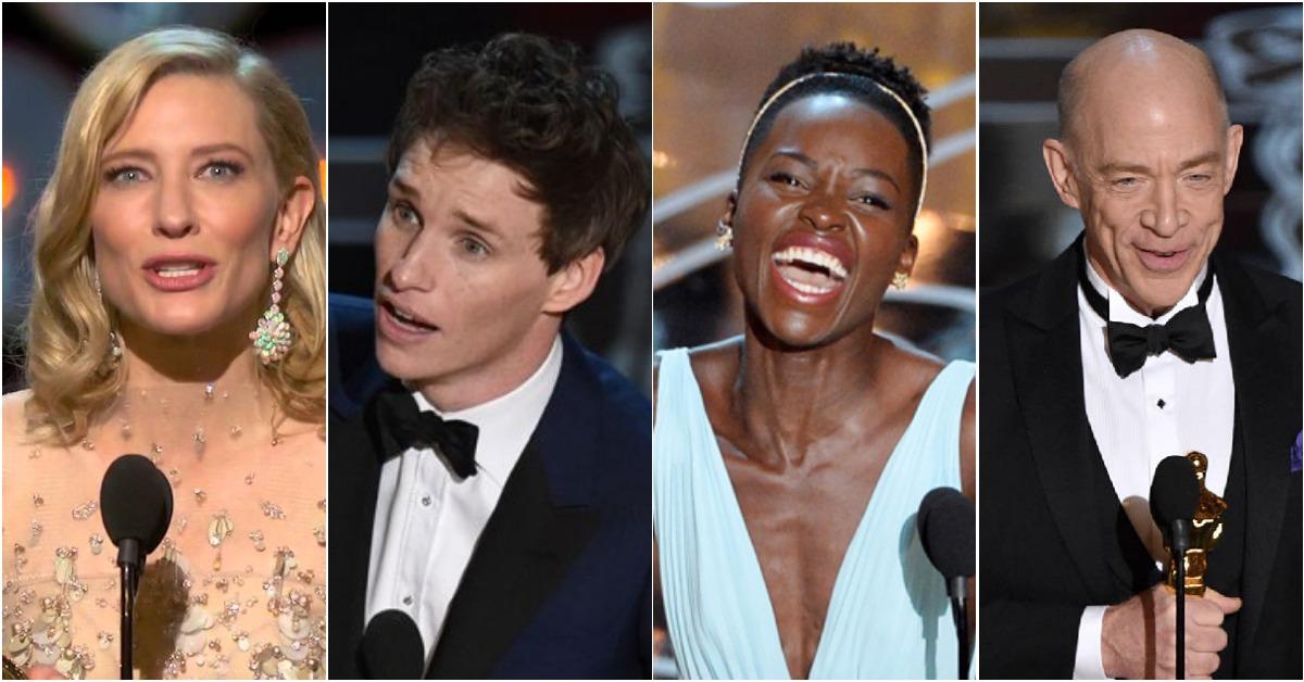 除了感謝家人、粉絲外他們還這麼做了...5個好萊塢明星獲得奧斯卡時最真摯可愛的告白!