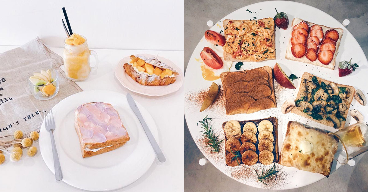 韓妞IG洗版的「超美吐司」台灣也吃得到!這4間帶你一秒走進首爾