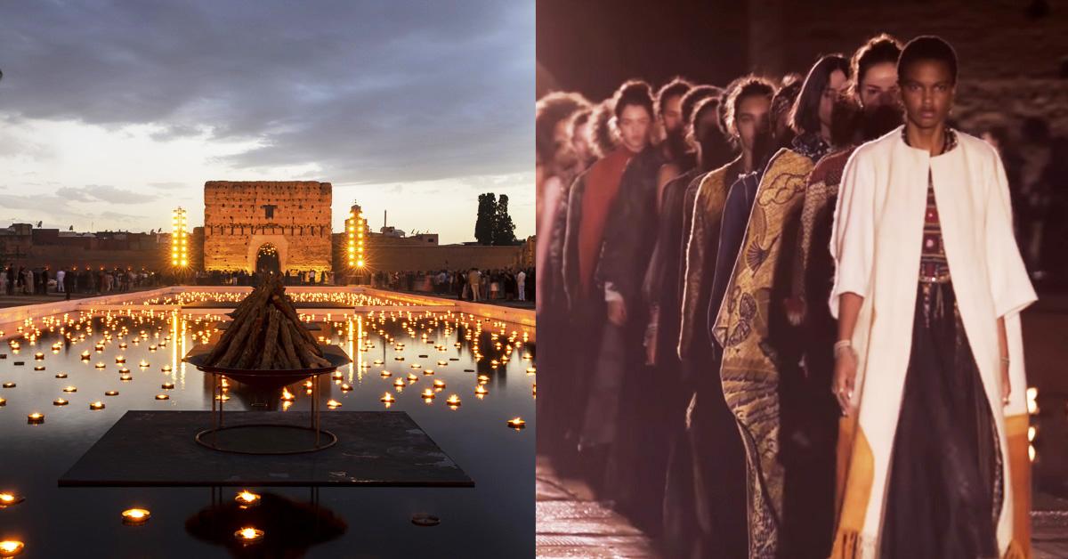 永生難忘在「世上最美皇宮」看秀!迪奧2020早春摩洛哥發表連Diana Ross都獻唱,誰能不沉醉?