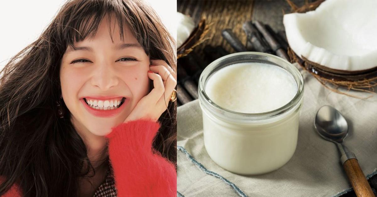 椰子油能防曬、美白牙齒?5個你不知道的「椰子油」天然保養法現在學起來