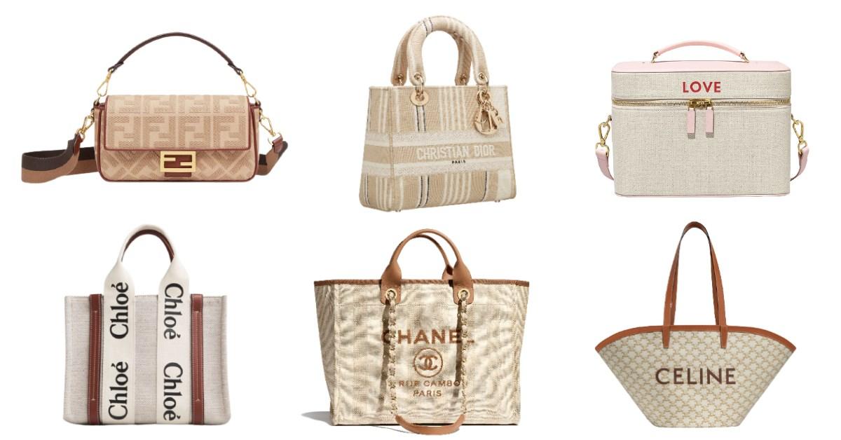 2021帆布包推薦Top10,Chanel、Celine、Dior...全都有,大容量輕旅行首選