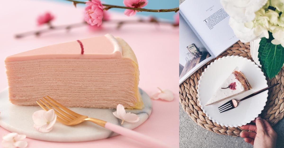 LADY M、時飴同推粉紅夢幻千層!超美吉野櫻色千層蛋糕都在這