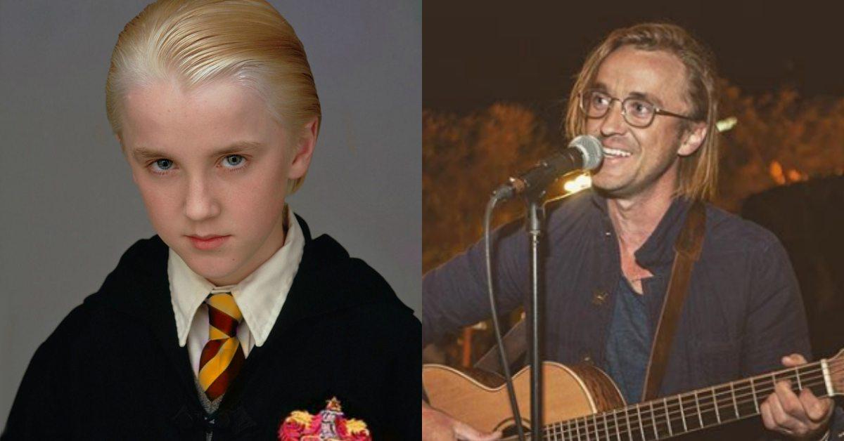 還我《哈利波特》的馬份!20年後湯姆費爾頓「髮線失控」超頹廢粉絲崩潰了