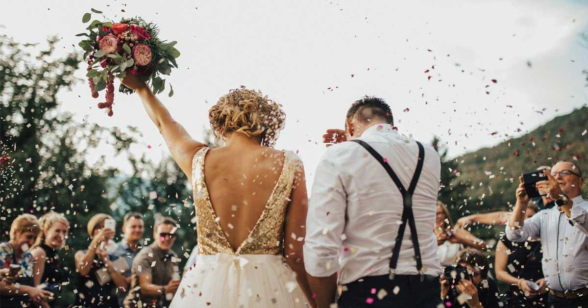5 種歐美風「婚禮佈置」提案,讓人看了都想再結一次婚!