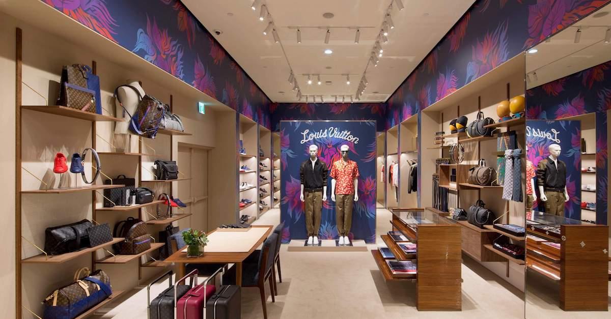 男友陪逛街也不無聊!Louis Vuitton Sogo 復興門市擴大營業,推出男士系列專區