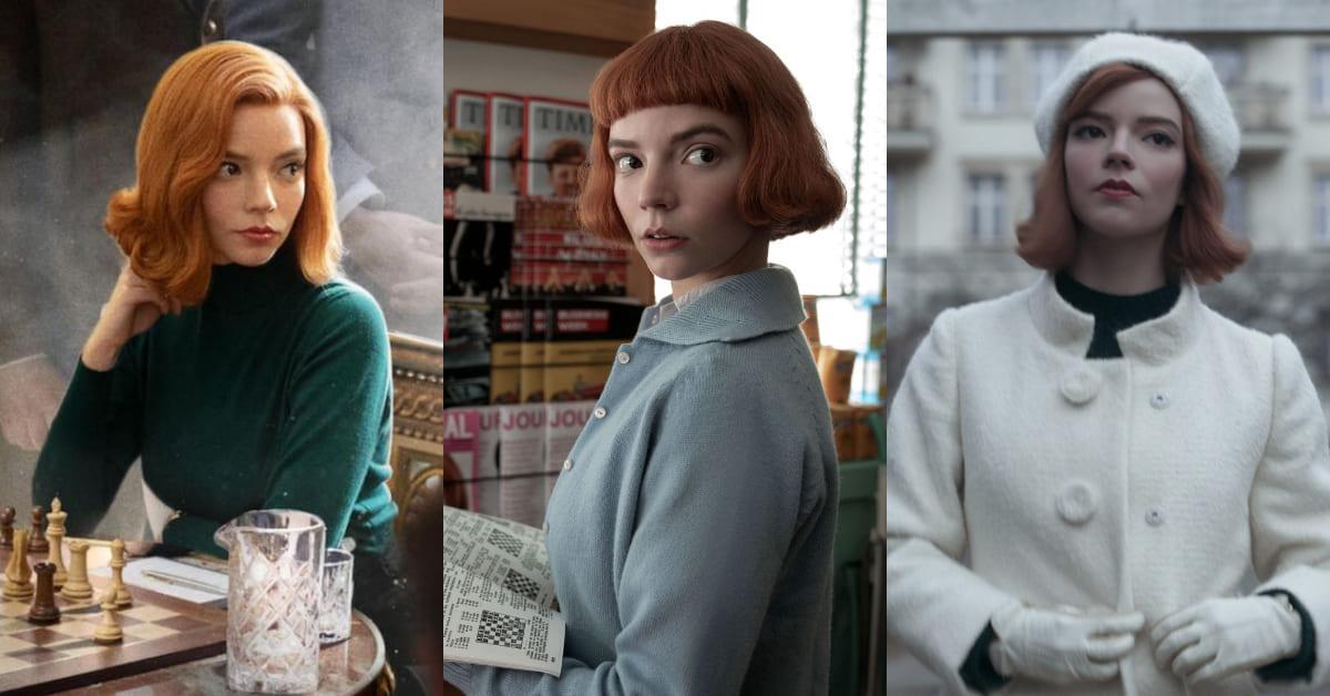 2020短髮推薦「精靈系」! 《后翼棄兵》女主角Anya Joy短髮4大攻略,用對髮飾造型感Up