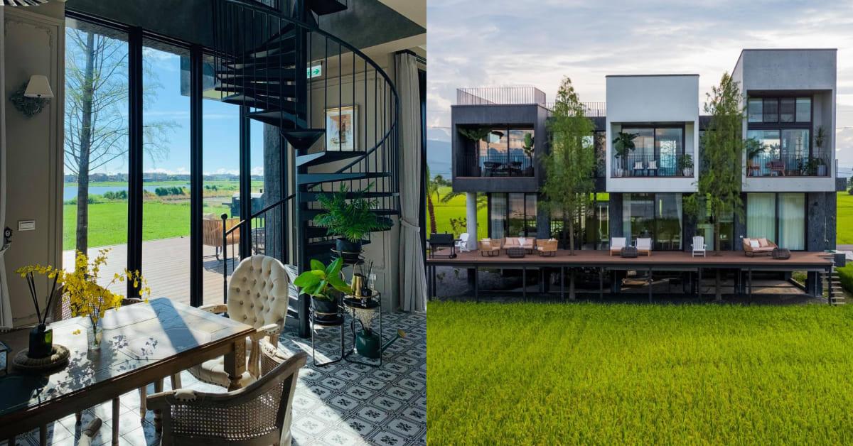 宜蘭民宿推薦「光旅暖稻」!玻璃屋置身稻田正中央,拍照 、住宿、美食都是pro級