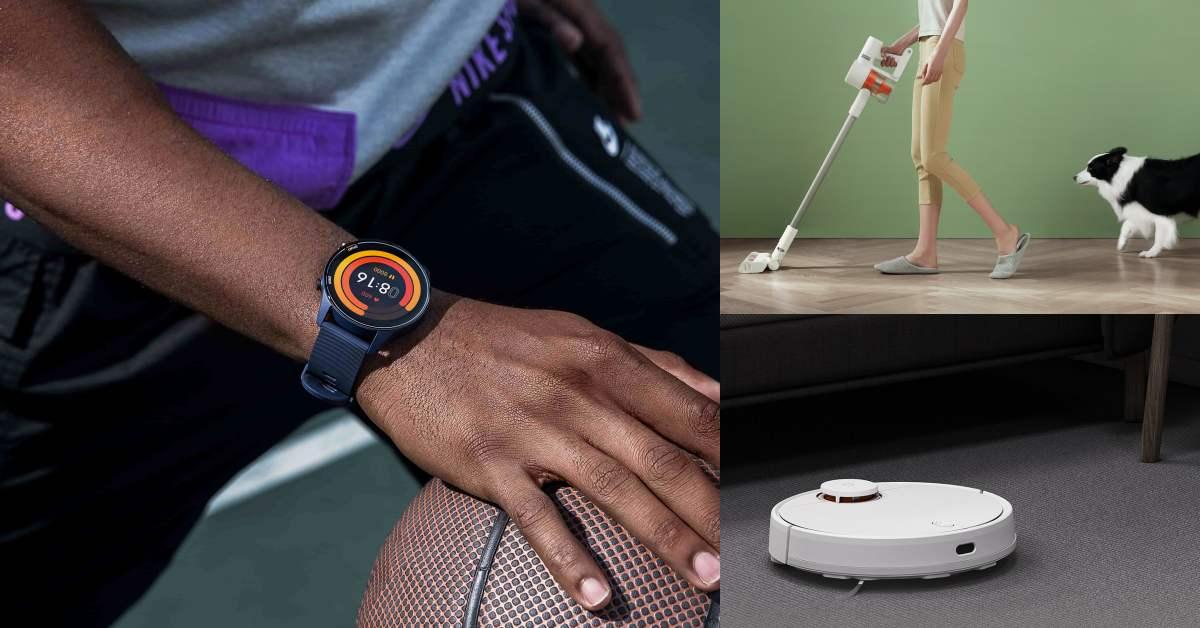 「小米手錶」運動款上市!空氣清淨機、掃拖機器人 、自動感應洗手機...限時超殺折扣同步登場