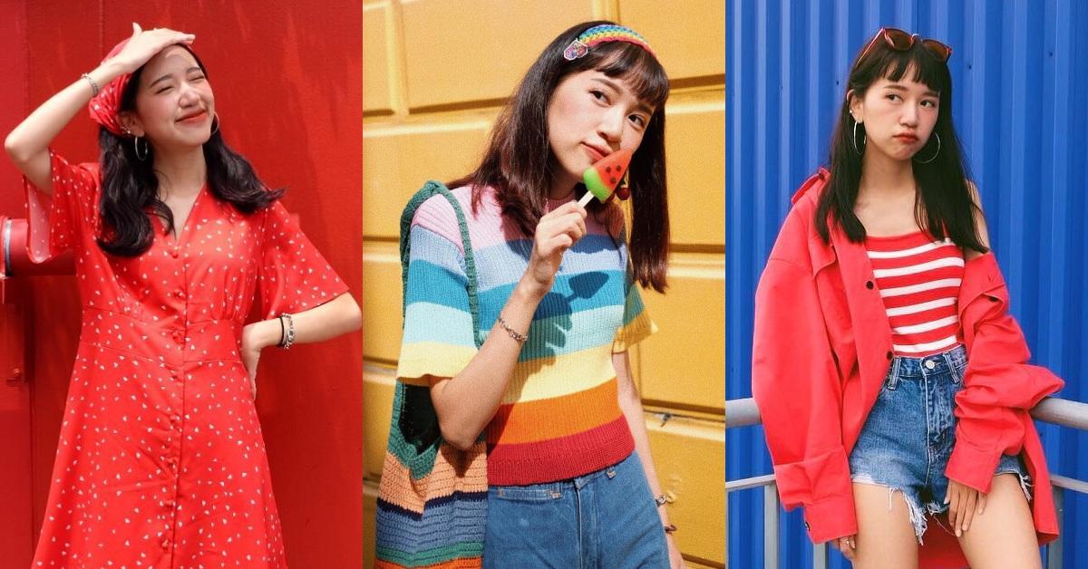 夏天別再只會黑白配了!讓泰國這位「色彩女王」教你穿出最繽紛的盛夏