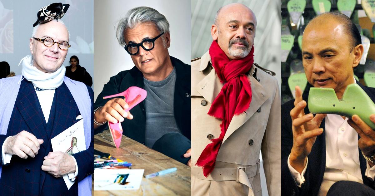 Sergio Rossi驟逝!時尚內行人不能不認識,4位年過半百的國寶級傳奇鞋履大師!