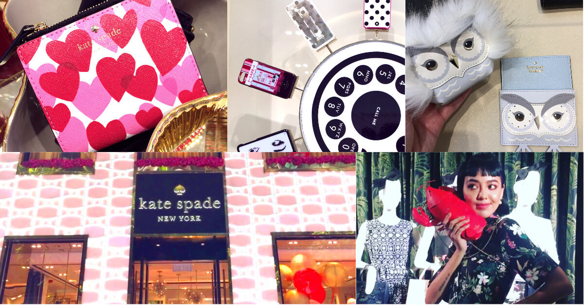 直擊kate spade亞洲第二旗艦店,特蒐情人節全系列,結合慈善活動讓愛更具意義!