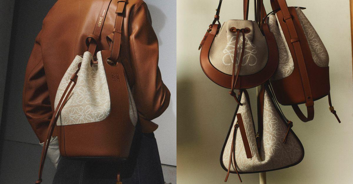 Loewe包包推薦「老花」!50週年推出緹花新系列,狂賣氣球包、吊床包全都換上新裝