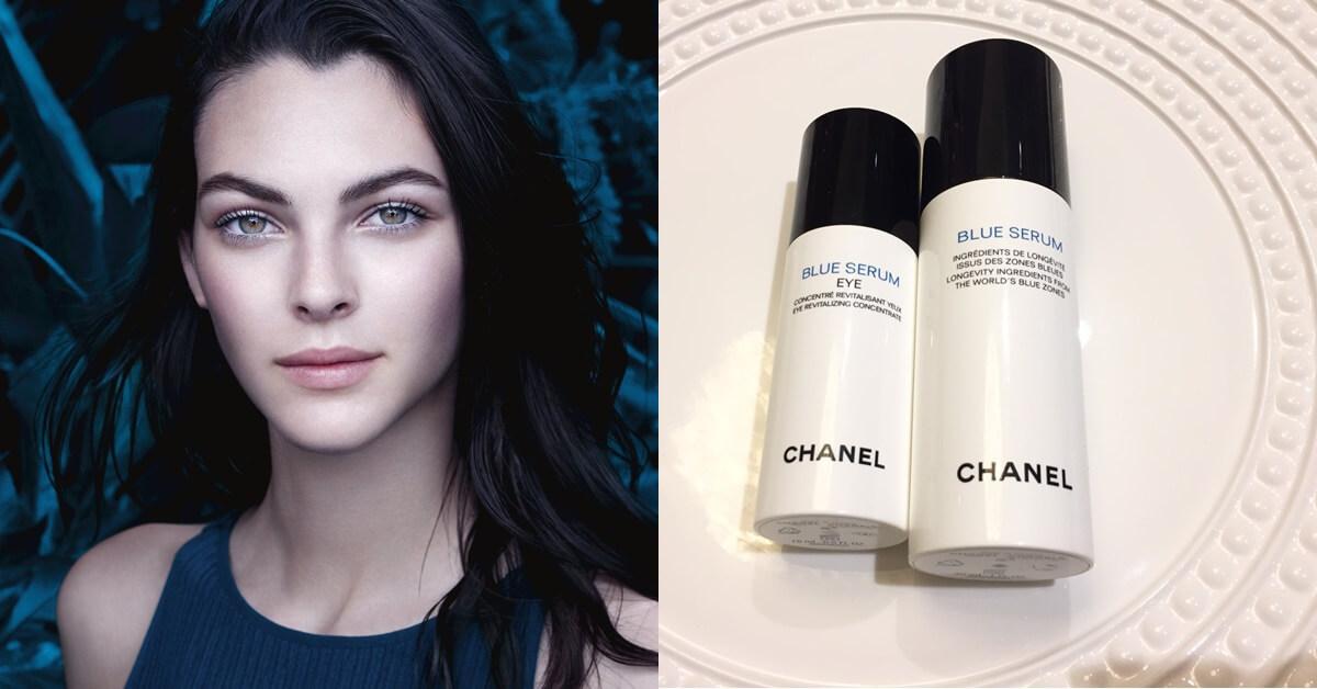 眼部肌膚的美肌超級食物來了!Chanel再推藍色青春還原眼露,讓你眼周匿齡技能點好點滿
