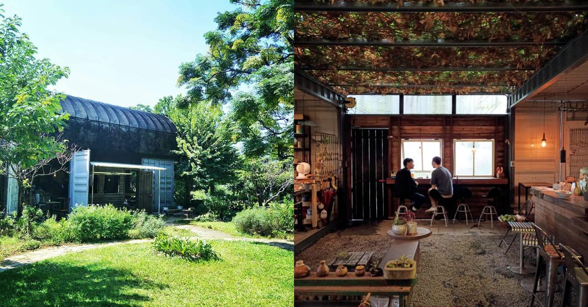 """三芝咖啡廳推薦「Papa在三芝」!送給父親的溫室植栽房,私密如世外桃源 ,去之前先""""私訊預約"""""""