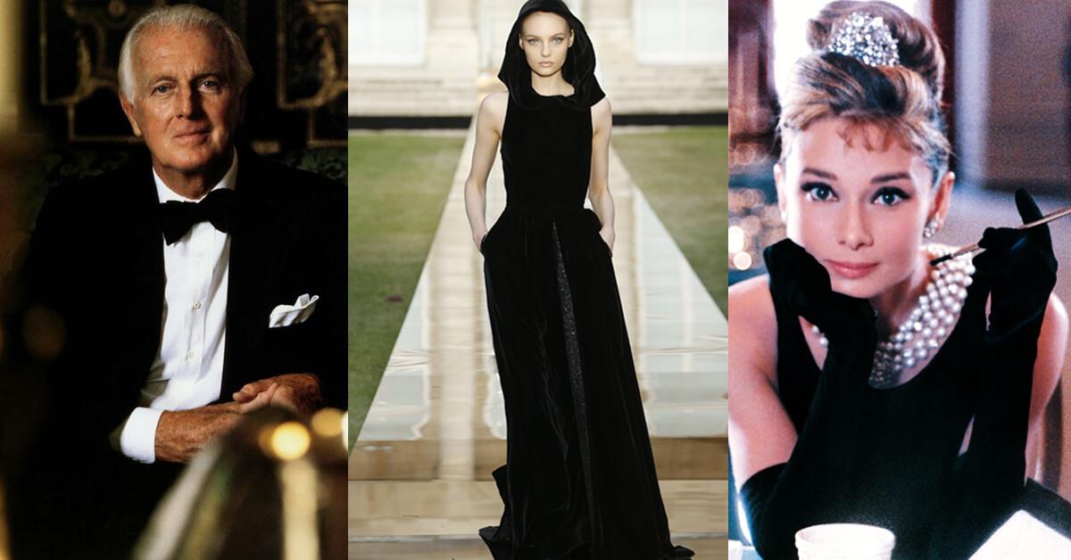 摩登再現經典小黑裙、重回品牌總部辦秀!一場獻給天上的GIVENCHY先生完美高級訂製服大秀,絕美也傷感!
