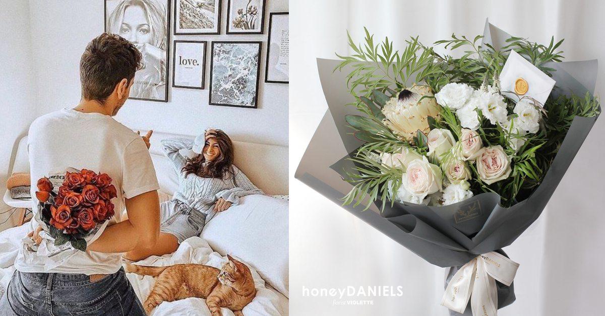 情人節用就用花束來表達愛意吧!6種歐系花藝來自名家詩詞的浪漫