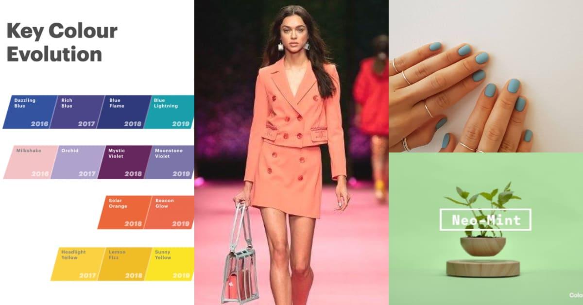跟著「2020年預測流行色」購物!薄荷綠、寧靜藍、哈密瓜橙是下一個IG大勢色