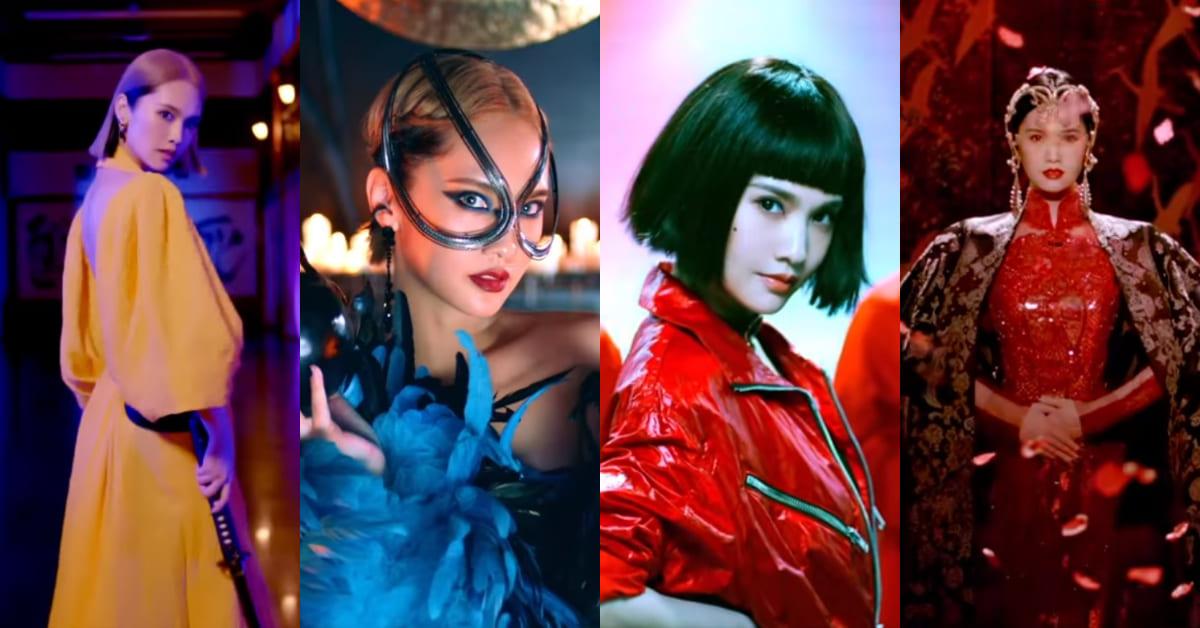 楊丞琳 MV《BAD LADY》上線倒數!巧扮6個影史魅力惡女,皇后造型最霸氣