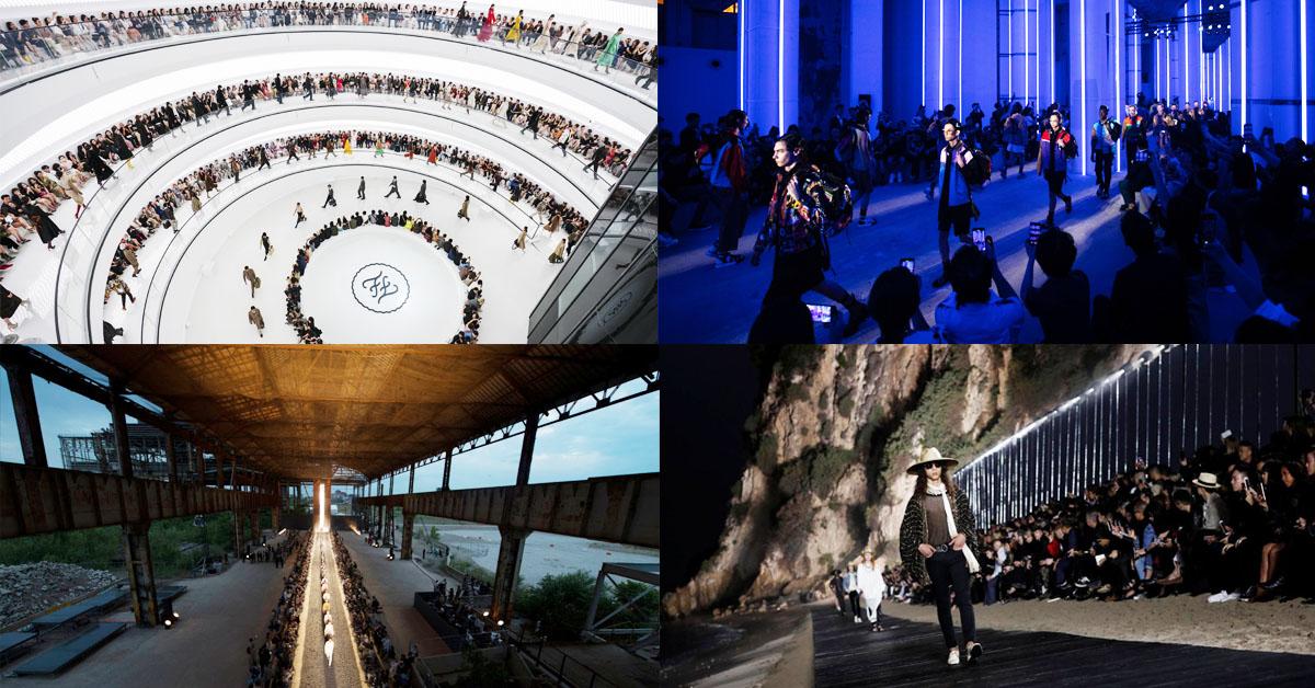 2019上半年時裝秀場回顧!從Fendi、LV、迪奧到Prada...這些場地大有來頭