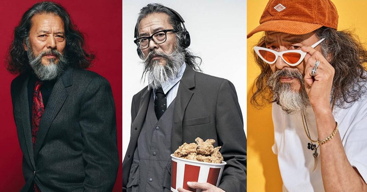 韓國阿伯63歲一圓兒時模特夢!從糟老頭變超Man落腮鬍性感男模