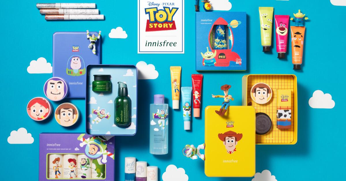 Innisfree推玩具總動員聯名美妝!9組推薦網友哭喊空殼也要收